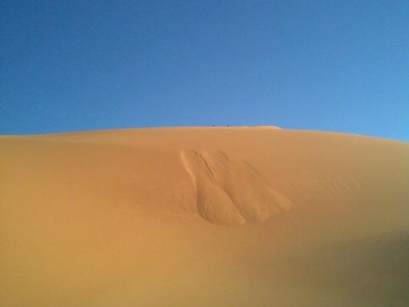 Fotografia de Assan Midal ( Deserto Líbio)