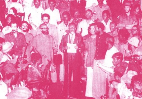 11 de novembro 1975, proclamação da Independência em Angola