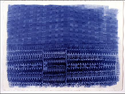 Terry Boddie Blue Print, 2003. Courtesy of the artist.
