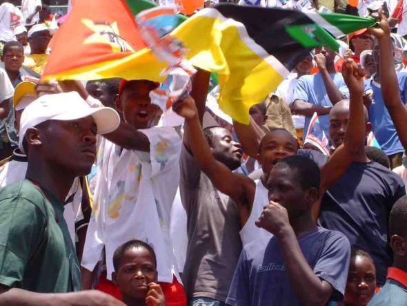 A luta continua, filme sobre as eleições em Moçambique