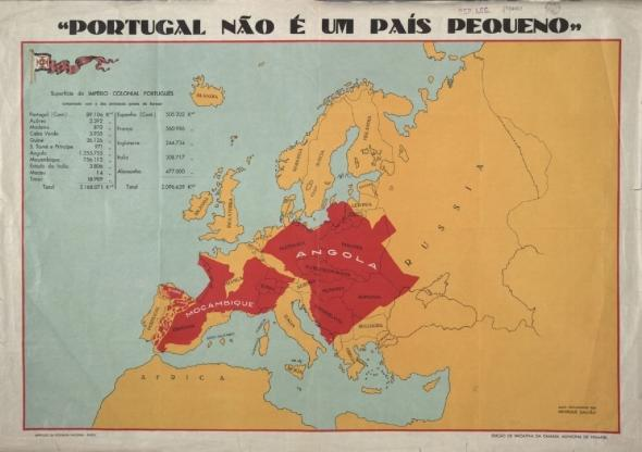 Mapa da Exposição Colonial do Porto, 1934 (Henrique Galvão, Biblioteca Nacional de Portugal).