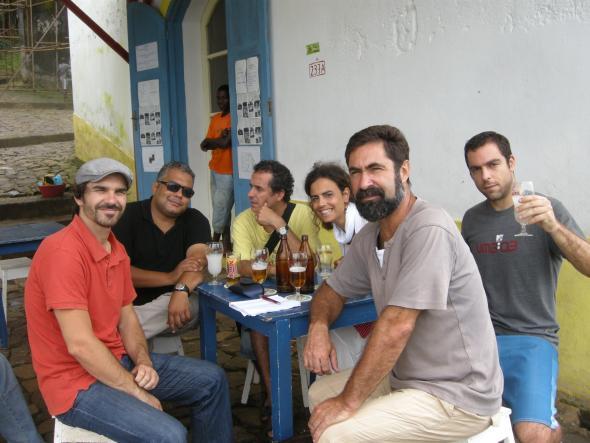 João Oliveira, Waldir Araújo, João Afonso, Marta Lança, Daniel Galera e Paulo Ramalho