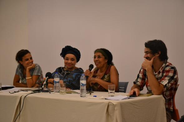 Marta Lança, Celina Pereira, Olinda Beja e o João Oliveira, foto do Catita