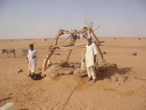 Watering hole sudan