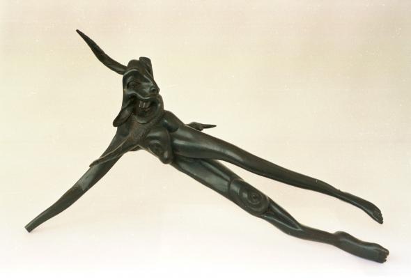Escultura de Jerónimo Ndinywashwa, s.d. (Colecção do Museu Nacional de Arte)