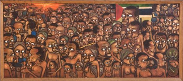 Mankew, 1975 (Colecção do Museu Nacional de Arte, Maputo)