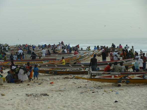 Guet Ndar beach