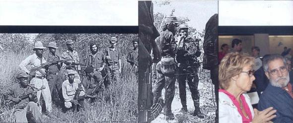 Pepetela foi guerrilheiro durante a guerra pela Independência. Depois pousou a arma e dedicou-se ao ofício de escritor.