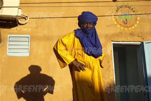 Moustapha Alhacen (Trabalhador nas minas e Presidente da ONG AGHIR IN MAN)