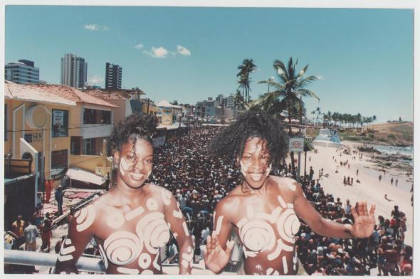 Dançarinas da Timbalada