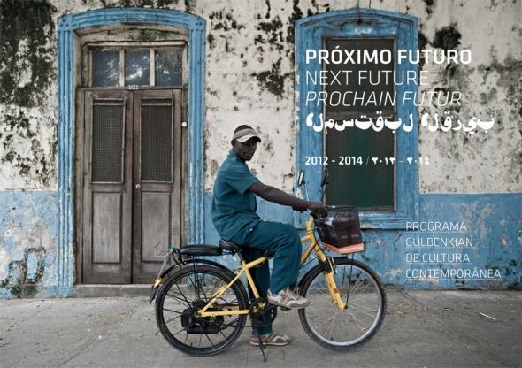 imagem da autoria do fotógrafo moçambicano Filipe Branquinho ('Guarda', 2011 / Cortesia do Artista), com intervenção gráfica de Mónica Braz Teixeira
