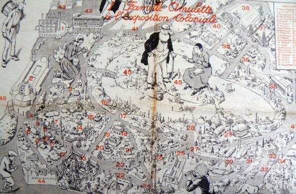 Joseph-Porphyre Pinchon, Aux colonies, Suivez le guide, 1931.