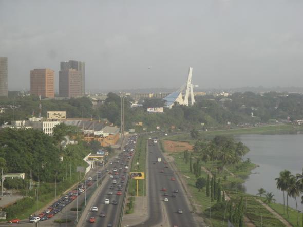 Abidjan, Côte d'Ivoire, photographie de David Adjaye