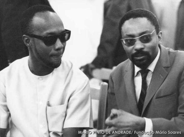 Amílcar Cabral et Mário Pinto de Andrade, 1969.