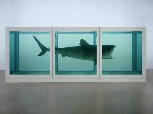 It's about a civilization, the collapse of a civilization' – Damien Hirst