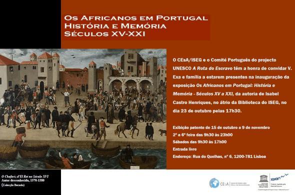 Os Africanos em Portugal, História e Memória - Séculos XV-XXI 429a111fa5