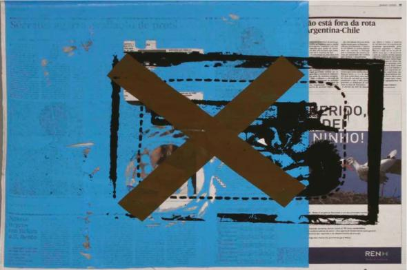 Yonamine. Sans-titre, 2010. Cortesia Cristina Guerra Art Contemporain