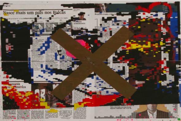 Yonamie. Sans titre, 2010. Cortesia Cristina Guerra Art Contemporain