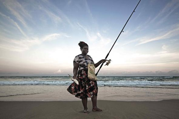 Dona Joana, pescadora