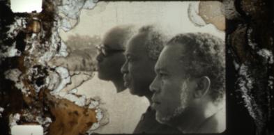 Aristides Pereira, Julius Nyerere, Luís Cabral, Bissau, 1976 (bruto) © INCA Guiné-Bissau, José Cobumba, Josefina Crato, Flora  Gomes, Sana na N'Hada