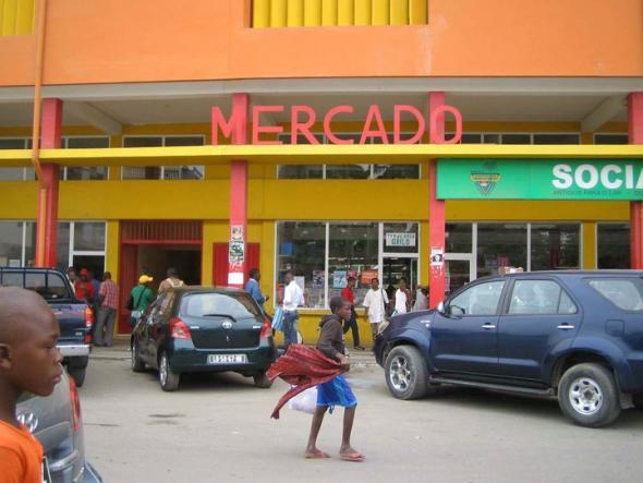Benguela, fotografias rodagem Eu Sou África, 2010