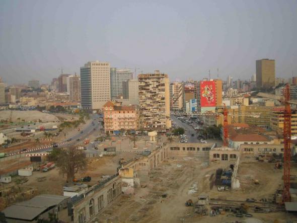Luanda, fotografias rodagem Eu Sou África 20010