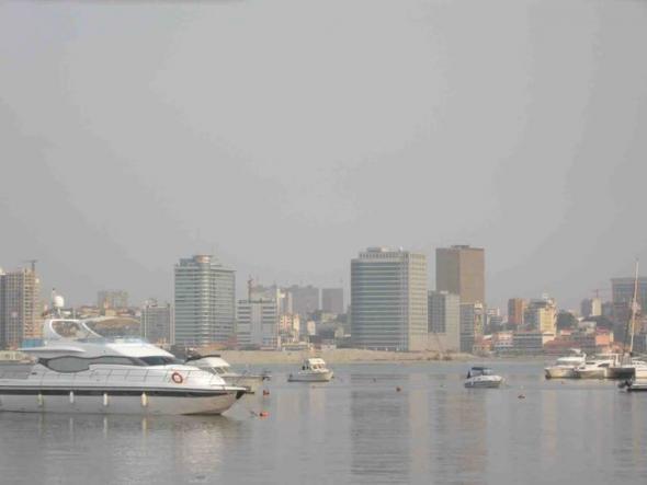 Luanda, fotografias rodagem Eu Sou África 2010