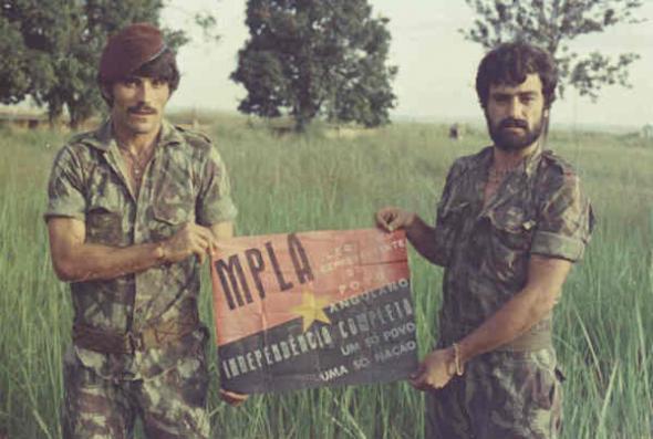 panfleto do MPLA