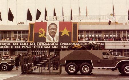 funeral de Agostinho Neto, 1979