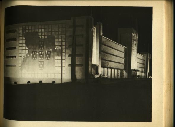 Pavilhão de Honra, projecto de Fernando Batalha