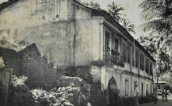 Gilberto Freyre, Goa (Inde), 1952
