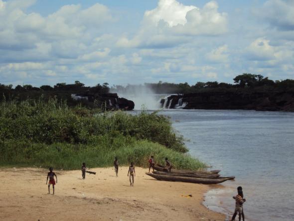 Braço do Rio Kwanza.