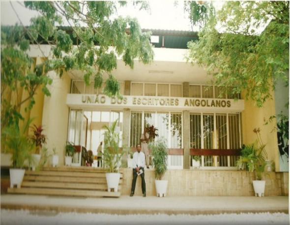 Edifício sede da União dos Escritores Angolanos, Luanda.