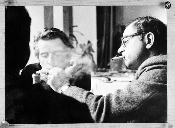 Jean Rouch with Edgar Morin