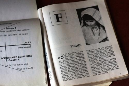 'F de Femmes' de Ana Gandum, Tunisia, Festival Voix de Femmes, ElTeatro 2010
