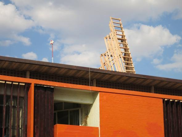 Ângela Ferreira, Entrer dans la mine, 2013, instalação