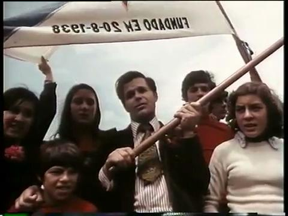 A still from the collective film 'As Armas e o Povo' (The Guns and the People, 1975)