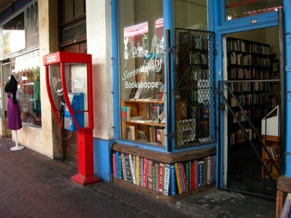 livraria na Cidade do Cabo, fotografia de Marta Lança