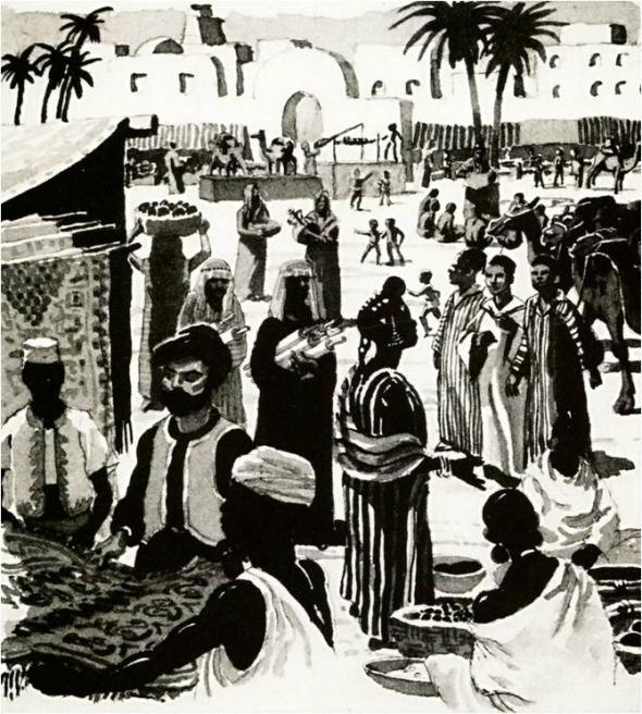 Mercado em África