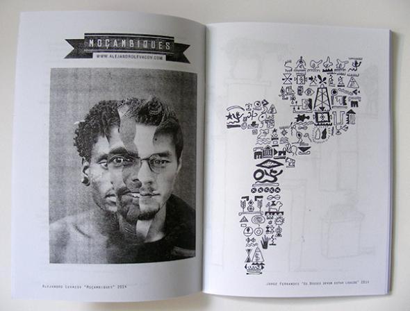 'Moçambiques, uma sociedade, várias realidades'. Imagem da esquerda de Alejandro Levacov e da direita de Jorge Fernandes