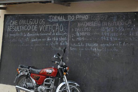 Jornal do povo, fotografia de Marta Lança