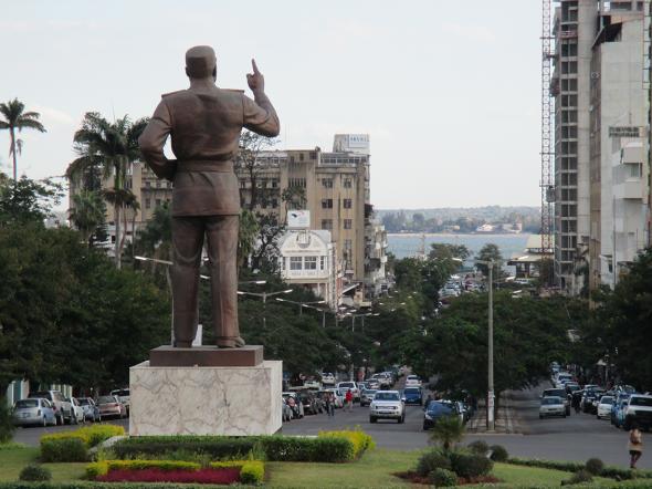 Statue Samora Machel