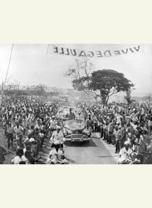 Viagem do general de Gaulle a Brazzaville, 23 agosto 1958