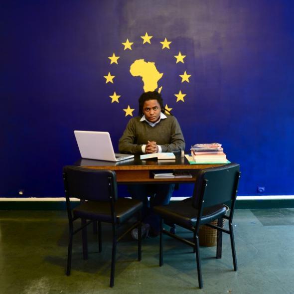 Kiluanji Kia Henda, O.R.G.A.S.M. HeadOffice, Paris, 2011