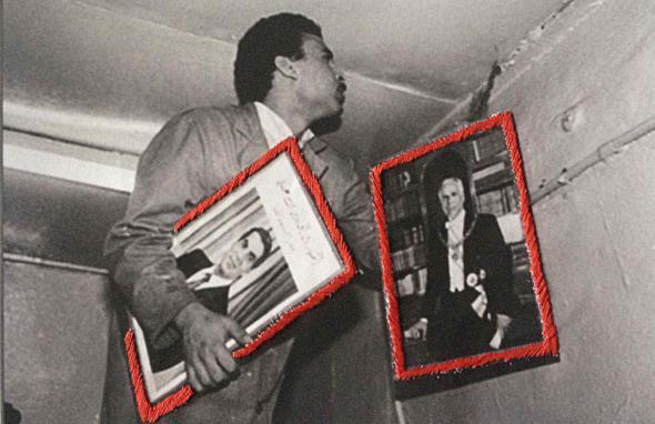 Destitution de Bourguiba 1987,Tunis, Héla Ammar