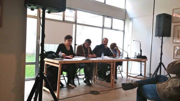 Maria Benedita Basto, Fernando Florêncio, Luhuna Carvalho e Rita Chaves.
