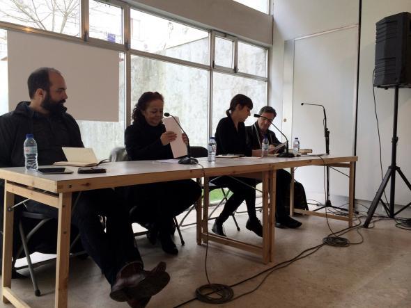 Luhuna Carvalho, Ana Paula Tavares, Ana Balona Oliveira e José Luís Garcia