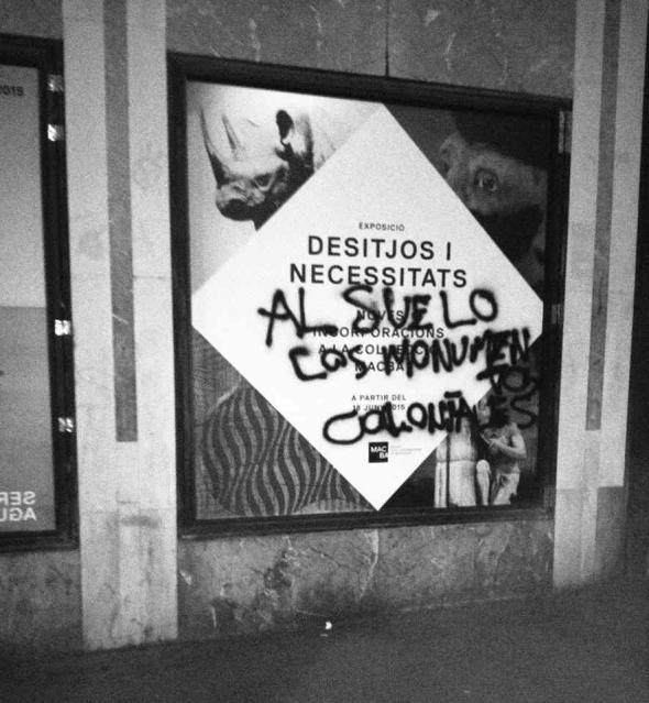 Desejos e Necessidades. Abaixo os monumentos coloniais, 2015.