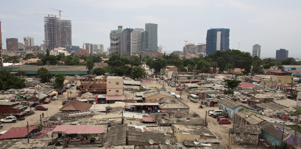 Bairro Operário. Luanda foi pensada para cerca de 250 mil pessoas. Hoje, na cidade vivem perto de 5 milhões