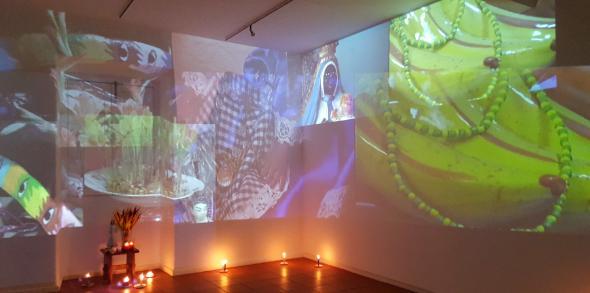 Exposição LA MILAGROSA, no Centro Cultural Emmerico Nunes